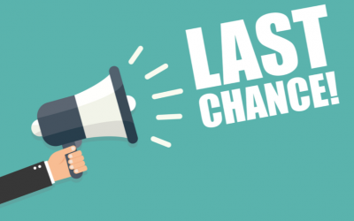 Dental appointments – Last call for 2019